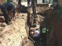 انقاذ عامل سقط عن ارتفاع 4 امتار داخل بئر في زيمر وحالته متوسطة