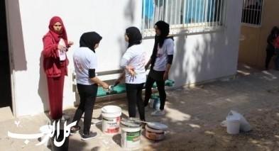يوم الأعمال الخيرية بمدرسة عين عبدات – النقب