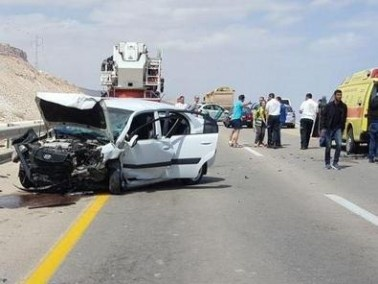 11 اصابة متفاوتة في حادث في الجنوب