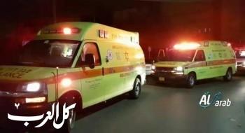 اصابة فتى بجراح متوسطة بعد تعرضه للدهس قرب شقيب السلام في النقب