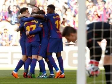 برشلونة يعزز صدارته بفوز سهل على بلباو