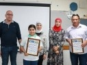 تخريج الفوج الاول من دورة الصحافة والاعلام في مدرسة شعب ب