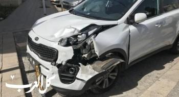 إصابة إثر حادث طرق على الشارع الرئيسي في مدينة سخنين