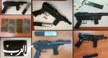 اعتقال 7 مشتبهين فلسطينيين بتجارة الأسلحة والمخدرات