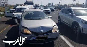 إصابة شخصين في حادث طرق قرب عين همفراتس