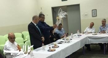 المدير العام للوزارة شموئيل أبواب يزور قرية الرّامة