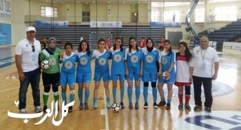 مشاركة منتخب ثانوية جمال طربيه سخنين للبنات في بطولة العالم للمدارس