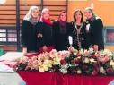 الثانوية الشاملة في كفر قاسم تحتفل بعيد الأم في أجواء احتفالية