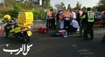 الشمال: مصرع رجل وامرأة في حادث طرق مروع على شارع 91