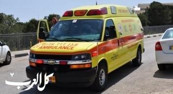 إصابة شاب (20 عامًا) جراء تعرضه للدهس في تل السبع
