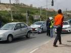إغلاق شارع الصفافرة في مدينة الناصرة في أعقاب حادث طرق