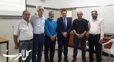 محاضرة للمحامي قيس ناصر في باقة الغربية
