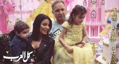 نادين نسيب نجيم تحتفل بعيد ابنتها