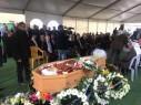 تشييع جثمان رئيس مجلس البعينة صالح سليمان بحضور رسمي وشعبي حاشد