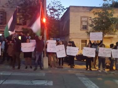 حيفا: مشاركة واسعة في مظاهرة غاضبة بعد احداث غزة