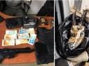 العثور على رأس غزال وأسلحة وذخيرة خلال تفتيش منزل في قلنسوة