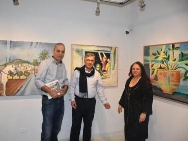 جولة في معرض إبراهيم حجازي