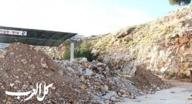 مجلس مجد الكروم يشرع ببناء ملعب كرة قدم