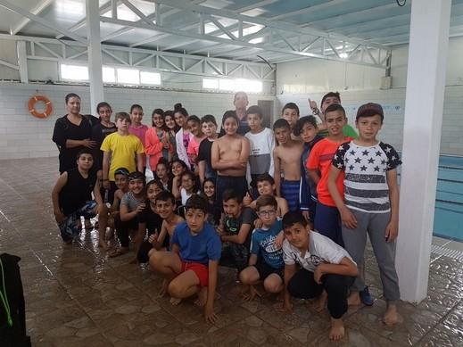 الفوار (ج) شفاعمرو في برنامج المعارف للسباحة