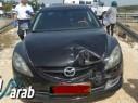 حادث طرق في شارع بركاي - باقة الغربية دون وقوع اصابات