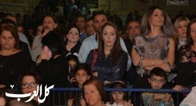 الآلاف يشاركون في قدّاس وجنّاز المسيح في الناصرة