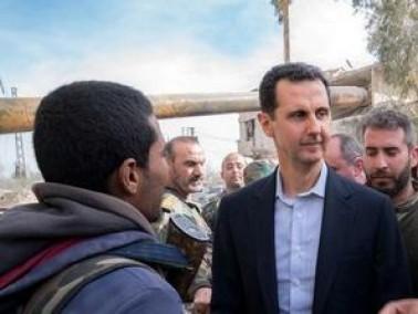 انباء عن مغادرة بشار الاسد قصره الرئاسي بدمشق