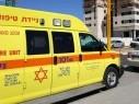 سقوط جسم ثقيل على عامل في منطقة حيفا وحالته متوسطة