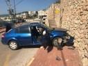 اصابة شخصين بجروح متفاوتة في حادث طرق في دير الأسد