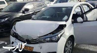 اصابة شخصين في حادث عند مدخل كفرقرع