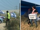 نشطاء من اليمين يقتحمون مكان انطلاق مسيرة العودة ويضعون الاعلام الاسرائيلية