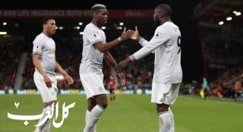 مانشستر يونايتد يعود إلى سكة الانتصارات