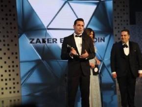 ظافر العابدين أفضل ممثل عربي في الدراما المصرية