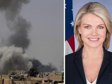 الخارجية الأمريكية: كنا على دراية بالضربات العراقية