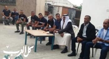 عقد راية صلح في اللد بين عائلتي أبو حمد وعسيوي بأجواء من المحبة والأخوة