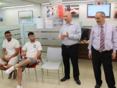 بنك هبوعليم يستضيف لاعبي فريق عماد اكسال