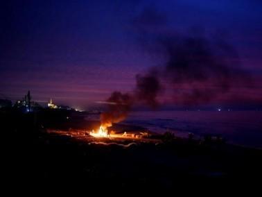طائرات الجيش الإسرائيلي تستهدف مواقع في قطاع غزة