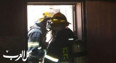 اندلاع حريق داخل منزل في بلدة جولس
