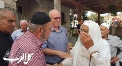 عقد راية الصلح بين عائلتي ابو شيخة وجزماوي في بلدة عارة