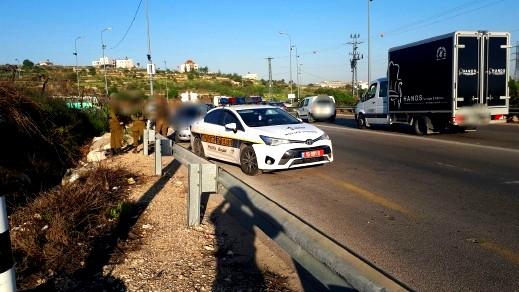 تحرير 593 مخالفة سير في منطقة الضفة