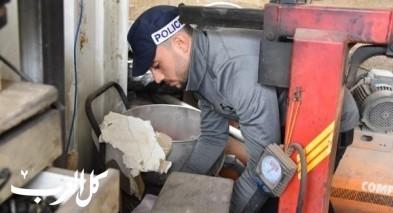 ساجور: ضبط محطة وقود غير قانونية ومحل لغسيل السيارات