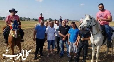 افتتاح مسار للخيول والخيالة غربي قلنسوة