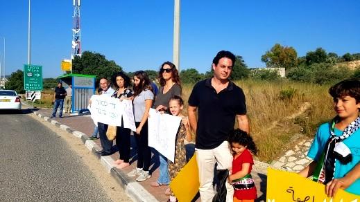 كفرقرع: معلمون وطلاب وأهال يتضامنون مع غزة