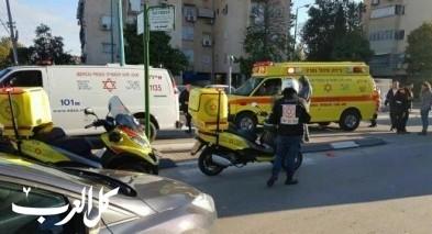إصابة عامل سقط عن سلم في منطقة الجولان