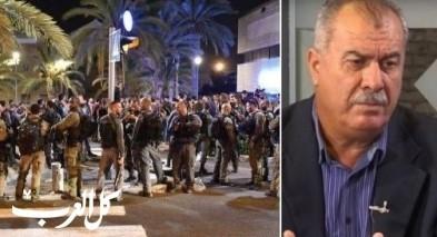 المتابعة: الشرطة اعتدت بوحشية على مظاهرة حيفا