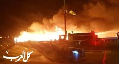 اندلاع حريق قرب مدخل دالية الكرمل