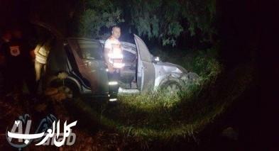 حادث طرق ذاتي على شارع وادي عارة
