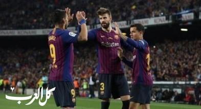برشلونة يودع إنييستا بالفوز على ريال سوسيداد