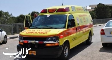 إصابة عامل سقط عن ارتفاع طابقين في حولون