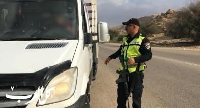 تحرير 607 مخالفات سير في منطقة الضفة