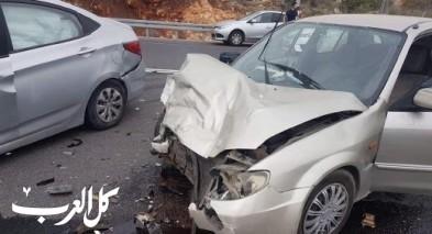 اصابة شابين من مجد الكروم بحادث شمالي البلاد